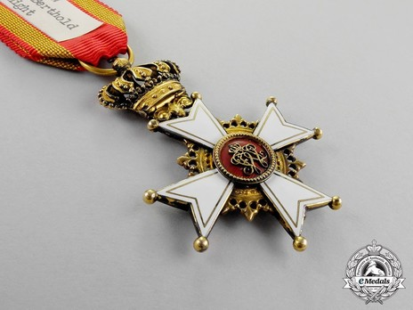 Order of Berthold I, Knight (in gold) Obverse