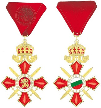 Order of Military Merit, III Class Obverse and Reverse