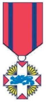 Rescue Service Cross, in Gold Obverse