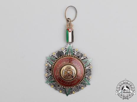 Supreme Order of the Renaissance  (Wisam Al Ordani Al Nahda), III Class Commander Obverse