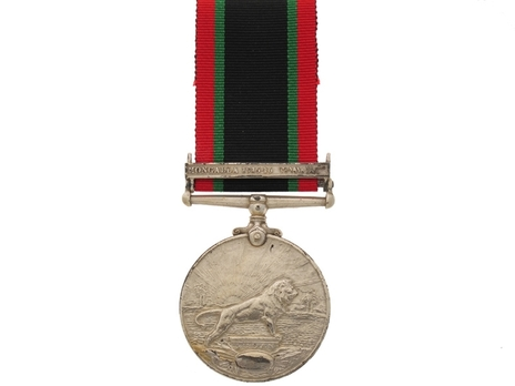 """Silver Medal (without clasp, with """"1335"""" date) Reverse"""