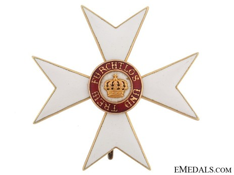 Honour Cross (1892-1918) (Gold) Obverse