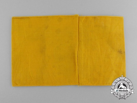 German Army Non-member of the Armed Forces Armband Reverse