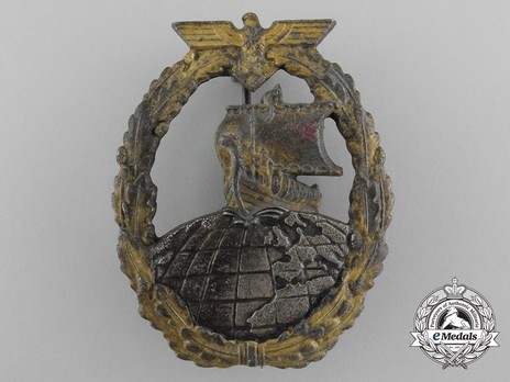 Naval Auxiliary Cruiser War Badge, by R. Souval Obverse