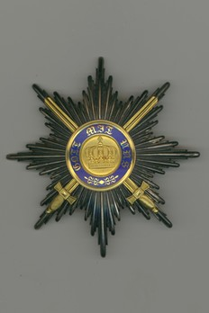 I Class Breast Star (with swords, in gold) Obverse