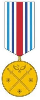 Medal for Humanitarian Missions and Peacekeeping Obverse