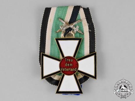 German Confession Cross, I Class Obverse
