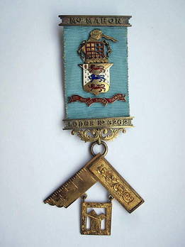 Masonic Jewel McMahon Lodge No 3262 Westminster