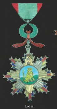Order of the Striped Tiger, V Class Officer Badge