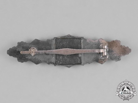 Close Combat Clasp, in Silver, by Hymmen Reverse