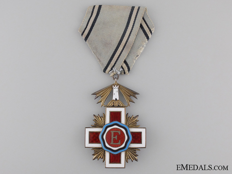 Order of the Estonian Red Cross, V Class Cross Obverse