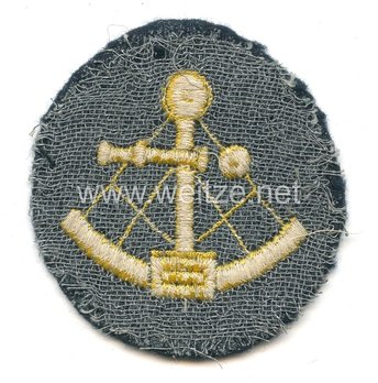Kriegsmarine Enlisted Men Helmsman/Coxswain Insignia Reverse