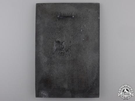 Honour Plaque of Bomber Group z.b.V. 105 Reverse