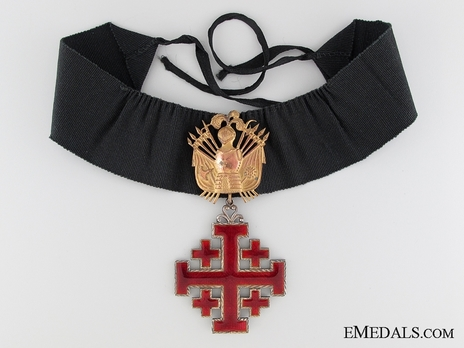 Equestrian Order of Merit of the Holy Sepulcher of Jerusalem (Type II) Grand Officer (for Men) Obverse