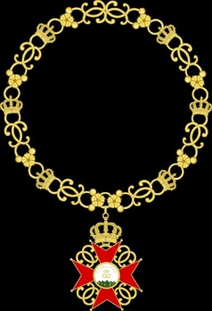 House Order of Fidelity, Gold Collar