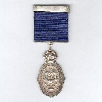 II Class Medal (solid, 1910-1936) Reverse