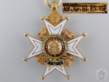 Companion (Military Division) (with gold by Garrard) Reverse and Detail