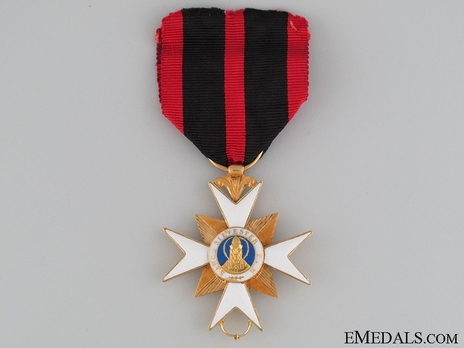 Order of the Golden Militia, Type II, Knight Obverse