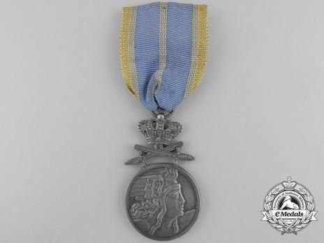 Medal of Aeronautical Virtue, Military Division, II Class (wartime) Obverse