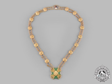 Order of the Golden Heart, Grand Collar Obverse