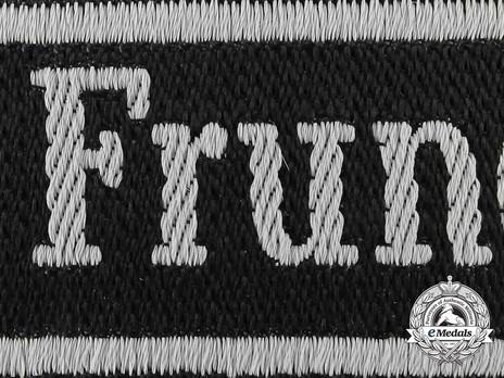 Waffen-SS Frundsberg Cuff Title Detail