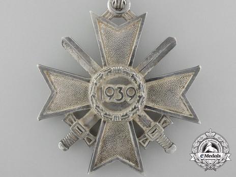 Knight's Cross of the War Merit Cross with Swords, by Deschler (unmarked) Reverse