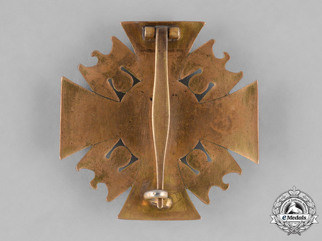 German Order, III Class Cross Reverse