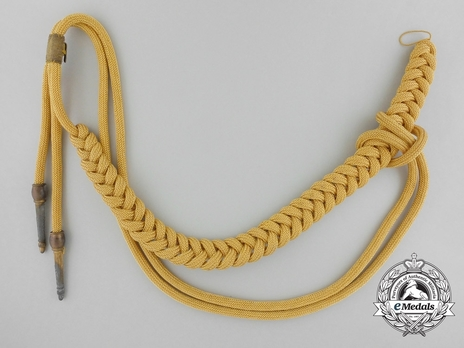 Kriegsmarine Adjutant Aiguillette (Blue Uniform) Obverse