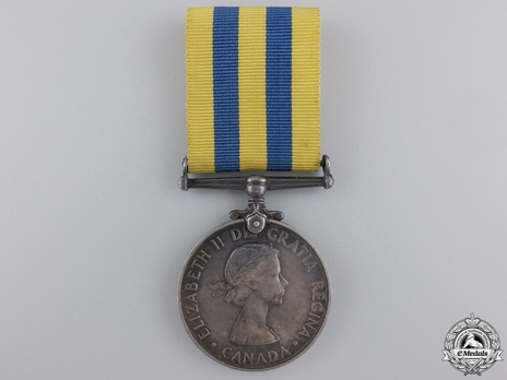 Silver Medal (for Canadian recipients) Obverse