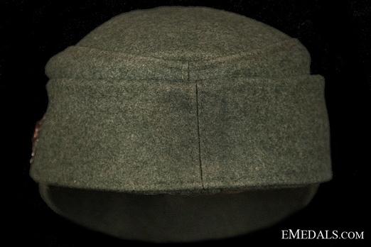 German Army NCO/EM's Mountain Cap Back