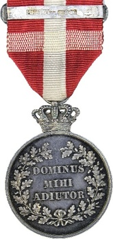 King Frederik VIII's Centenary Medal Silver Medal (with crown) Reverse