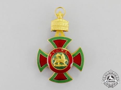 Order of Emperor Menelik II, Officer Obverse