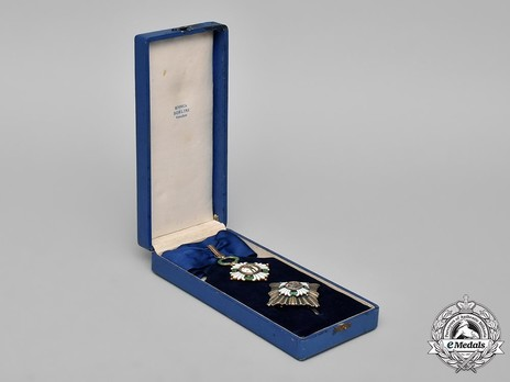 Order of the Yugoslav Crown, Grand Officer's Cross Case of Issue
