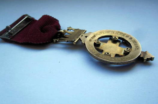 Masonic Jewel Candleshoe Chapter R.C. Lodge N 430