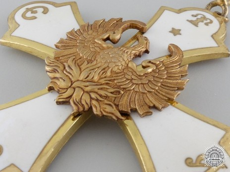 Order of the Phoenix, Type I, Grand Cross Obverse Detail