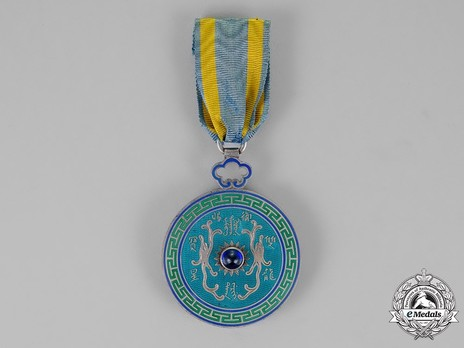 Order of the Double Dragon, Type I, IV Class Obverse