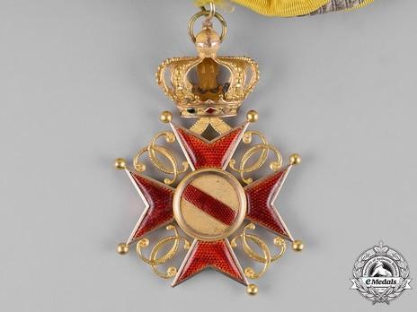Grand Cross (1803-1918) (regular swivel hinge variation) Reverse