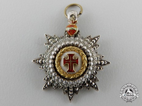 Miniature Commander Breast Star (with 8 rays) (Gold) Obverse