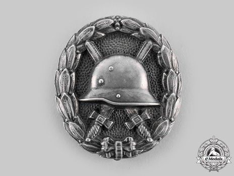 Wound Badge, in Silver (in silver) Obverse