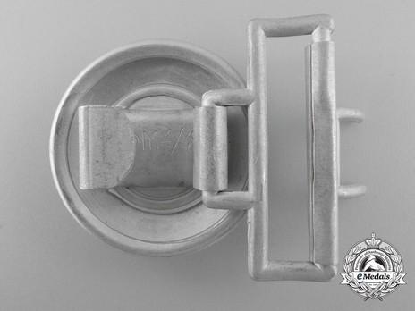 SA Leader Belt Buckle (oakleaf keeper version) Reverse