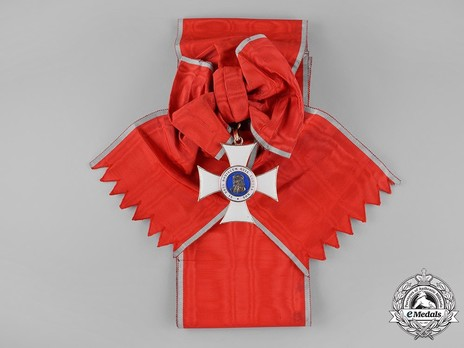 Grand Cross (in gold) Obverse with Ribbon
