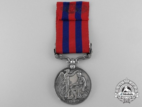 """Silver Medal (with """"BURMA 1885-7"""" clasp) Reverse"""