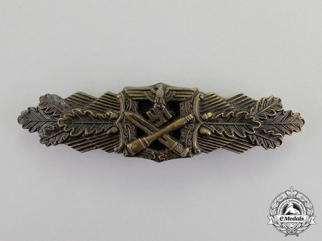 Close Combat Clasp, in Bronze, by Unknown Maker Obverse