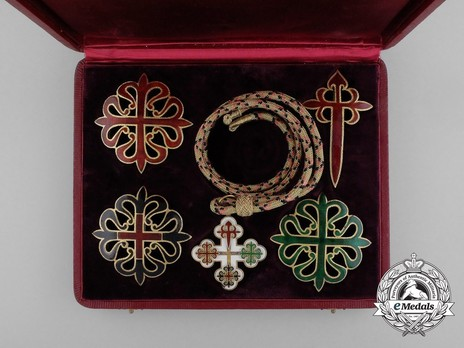 Cross (Silver gilt) Obverse Case of Issue