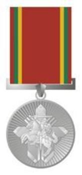 Order of the Merits to Lithuania, Medal Obverse