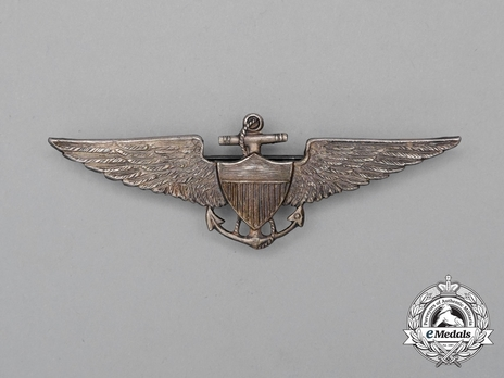Pilot Wings (with sterling silver) Obverse