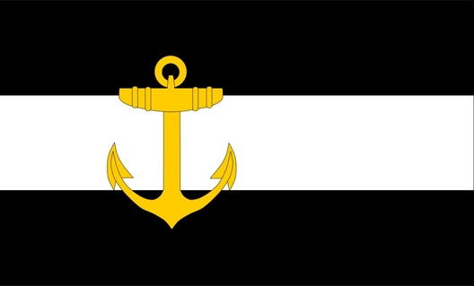 Kriegsmarine Regimental Commander Flag Obverse