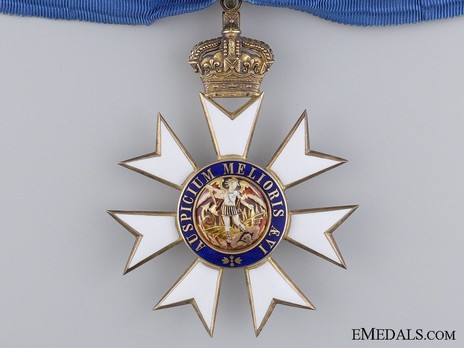 Commander (with silver-gilt by Garrard) Obverse