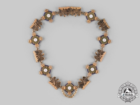 High Order of the Black Eagle, Collar (in gilt)