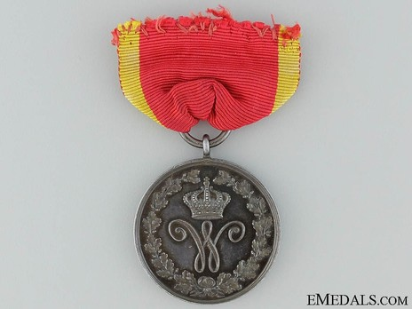 Dukely Order of Henry the Lion, I Class Honour Medal (in silver) Obverse